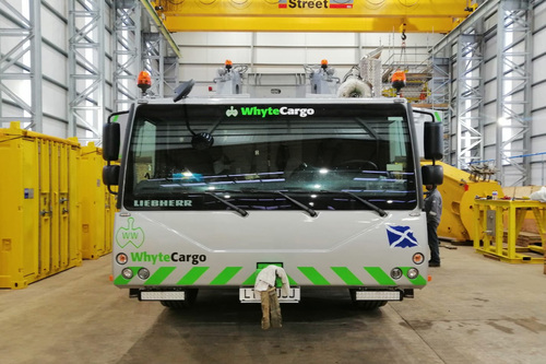 whyte cargo livery work