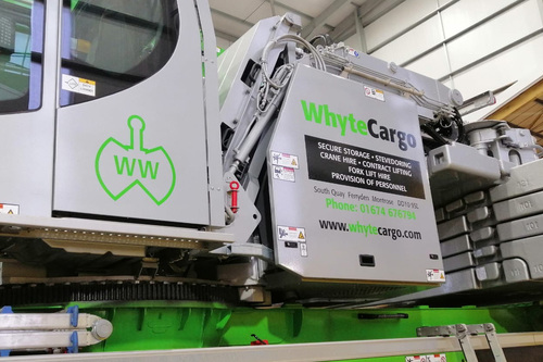 whyte cargo livery design