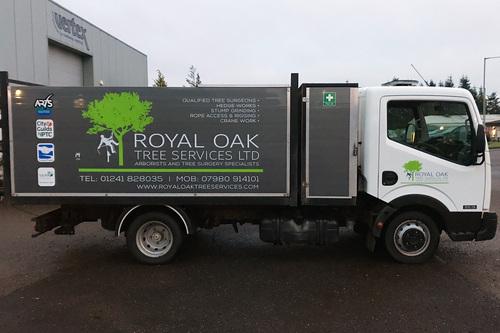 royal oak vehicle livery design