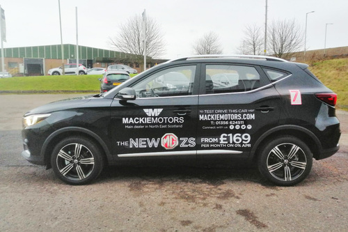 mackie motors livery work
