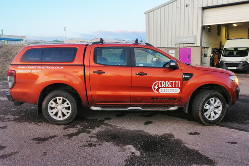 erretti livery work completed
