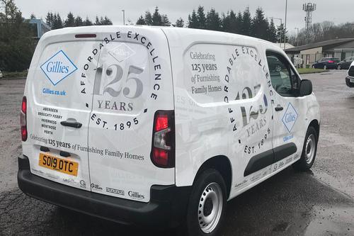 125 years van design