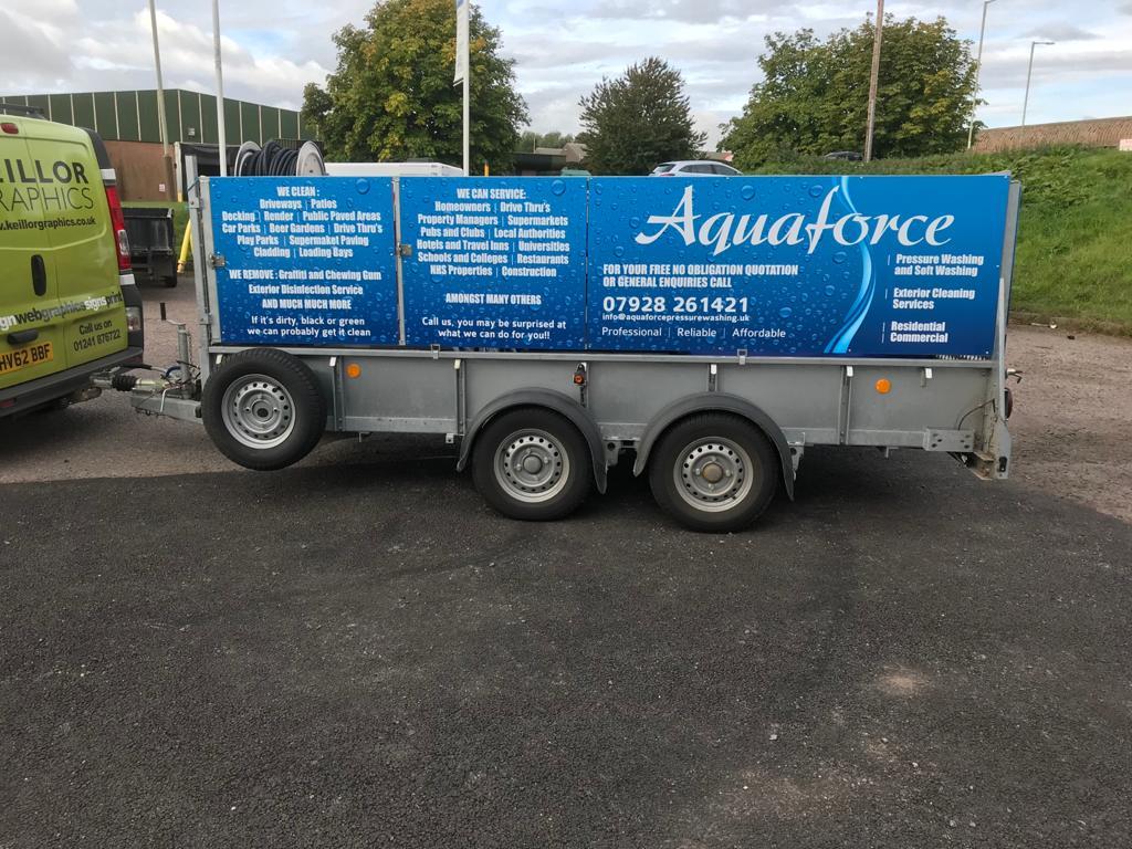 aquaforce truck pull