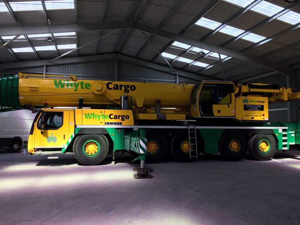 Whyte Cargo vehicle livery