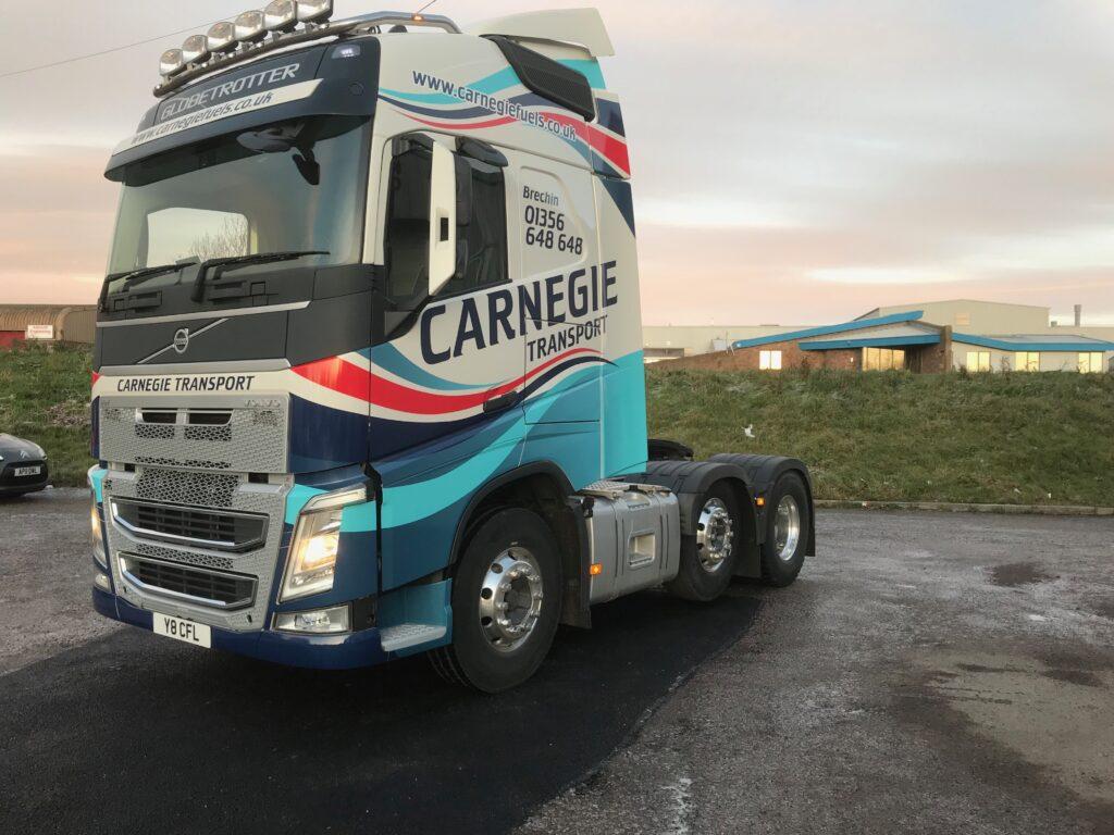 livery job for carnegie transport