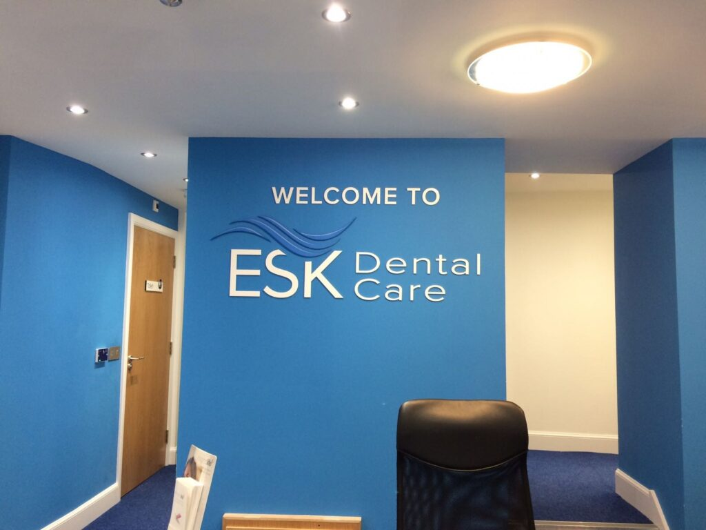 Welcome to ESK wall signage