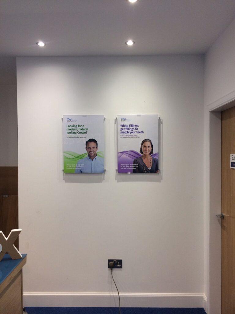 Interior work for ESK Dentists