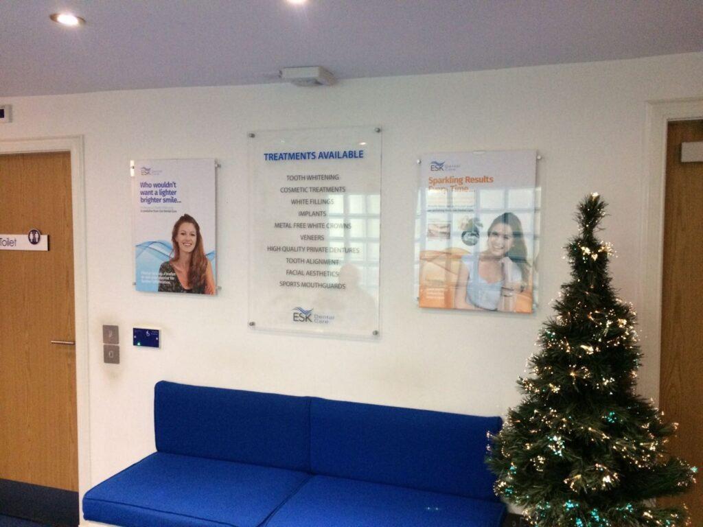 Interior work for ESK dental care