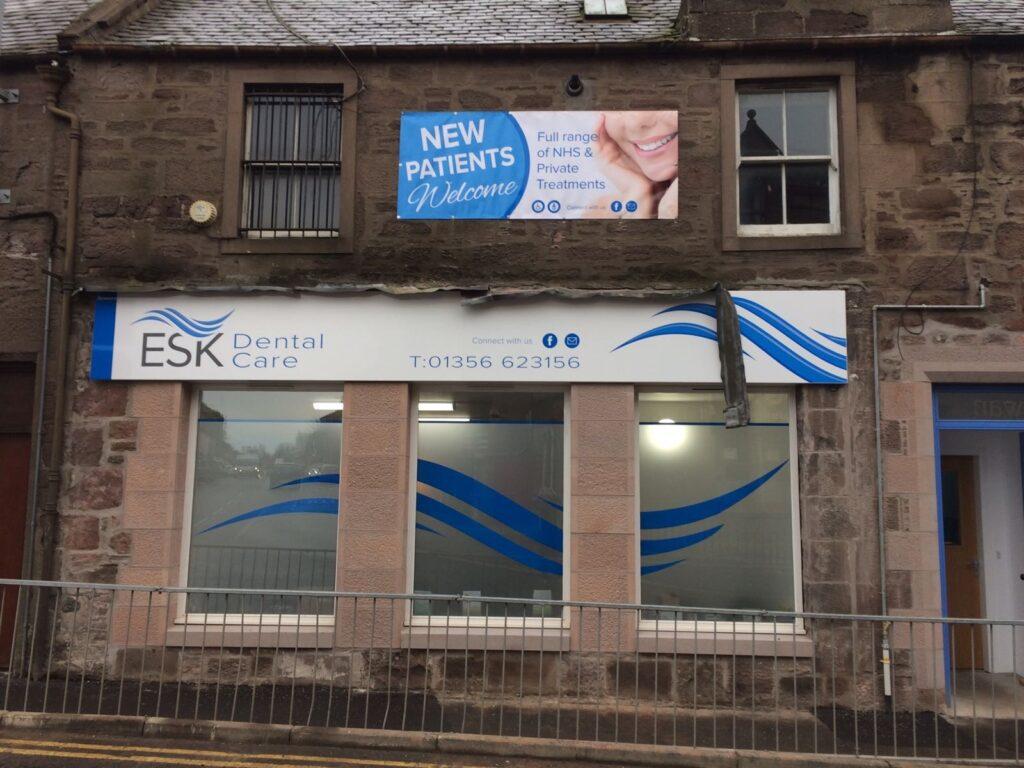 ESK Dental Care building fascia