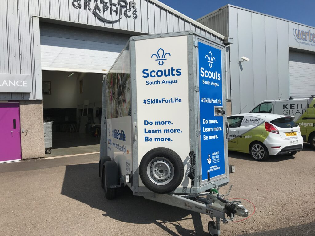 Scouts South Angus livery job