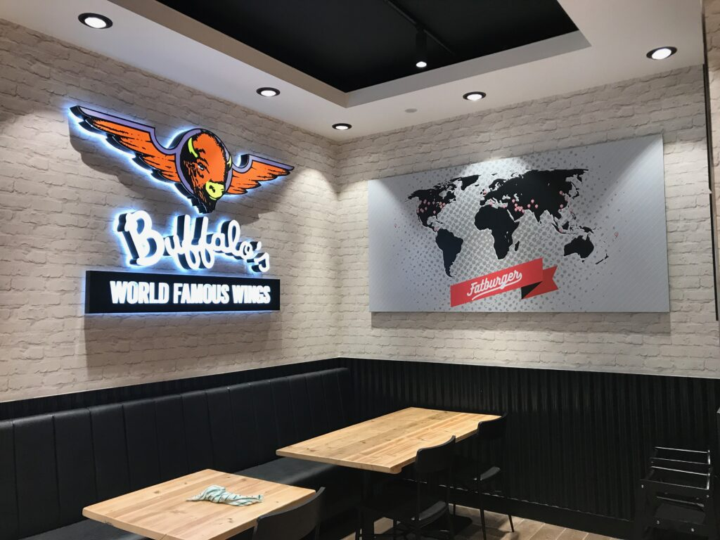 fatburger interior design