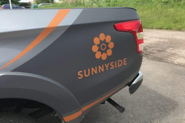Sunnyside vehicle livery