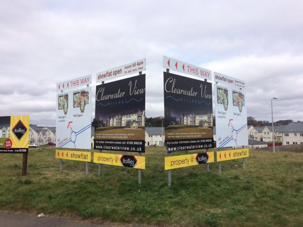 Some recent signage work for Clearwater view