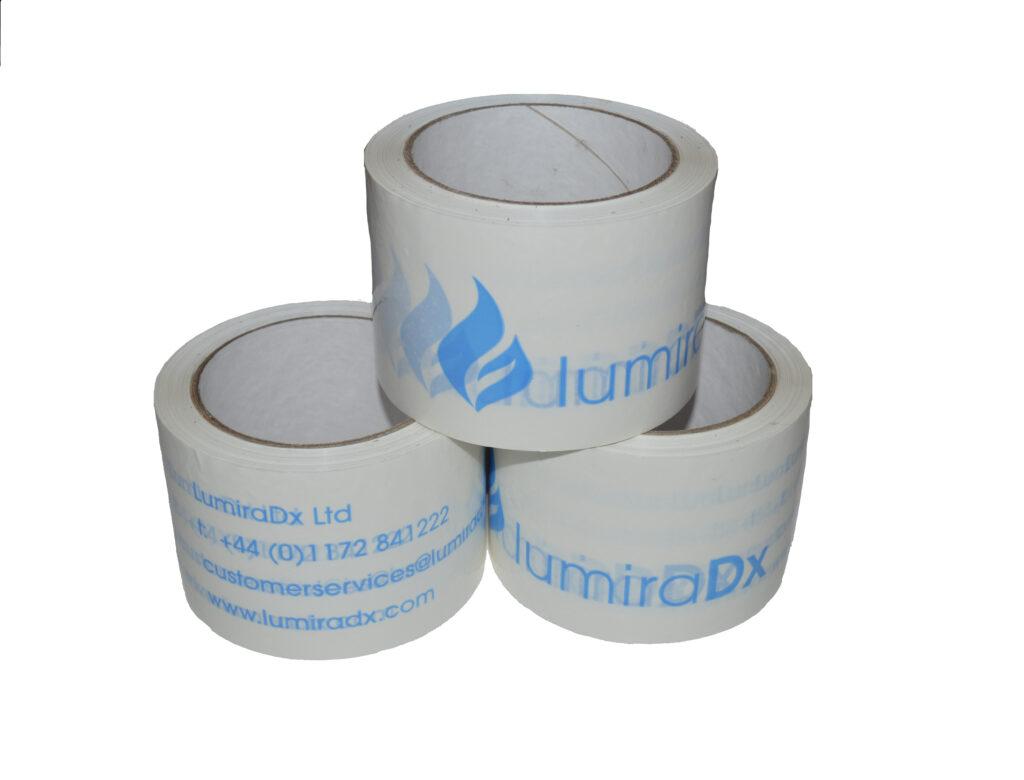 lumira dx branded tape