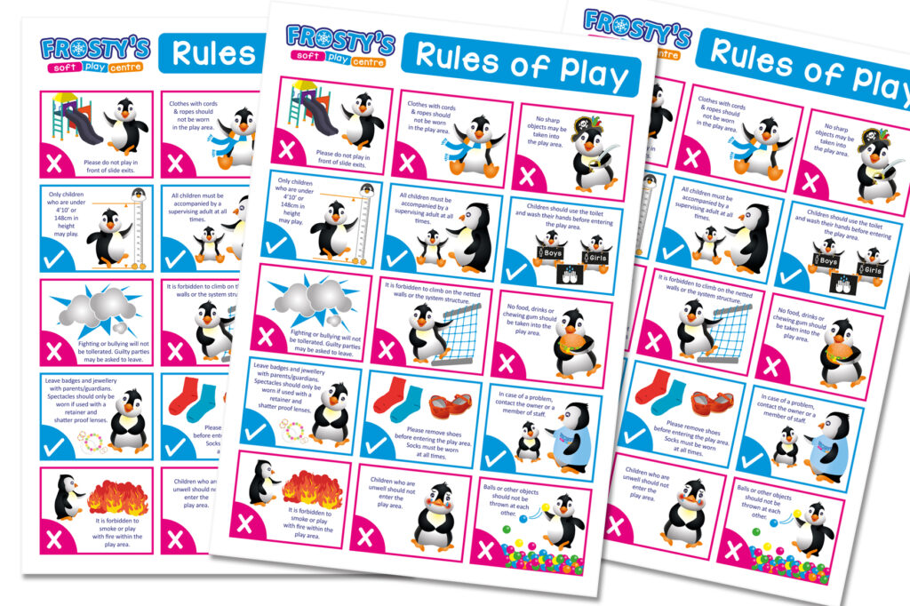 Rules of Play design for Frosty's