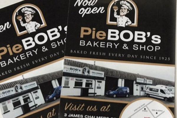Pie Bobs print work