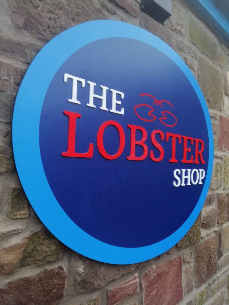 Recent branding work for Lobster Shop