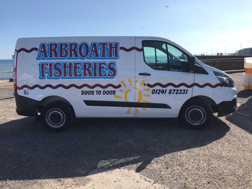 arbroath fisheries livery work