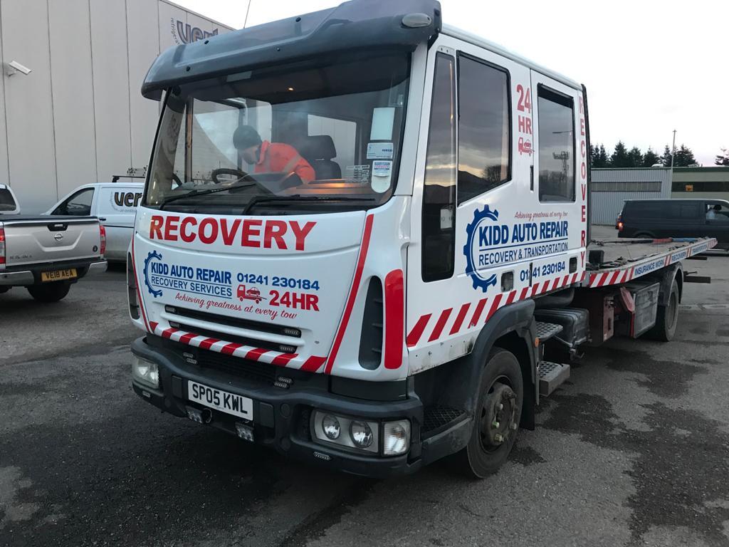 kidd auto repair lorry design