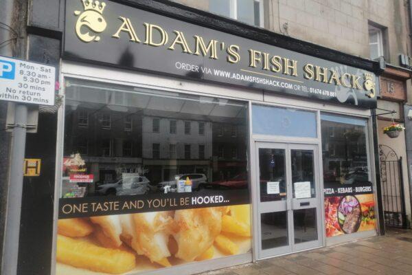Adams Fish Shack fascia