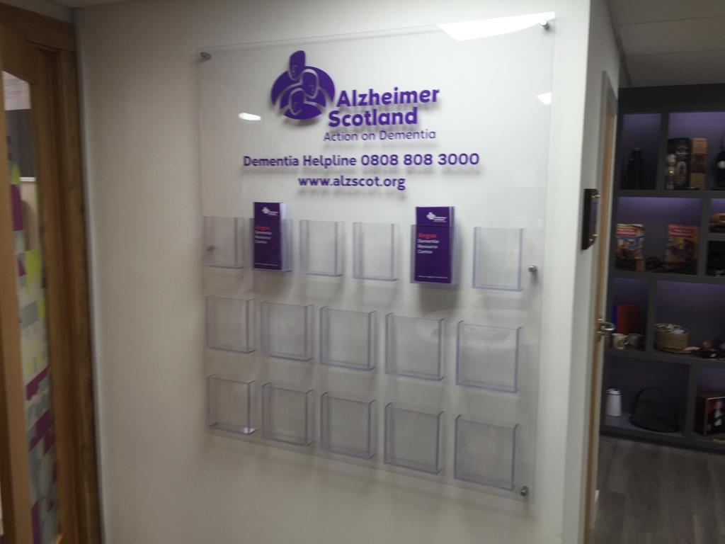 alzheimer scotland design installation
