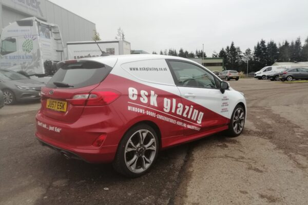 vehicle livery for esk glazing