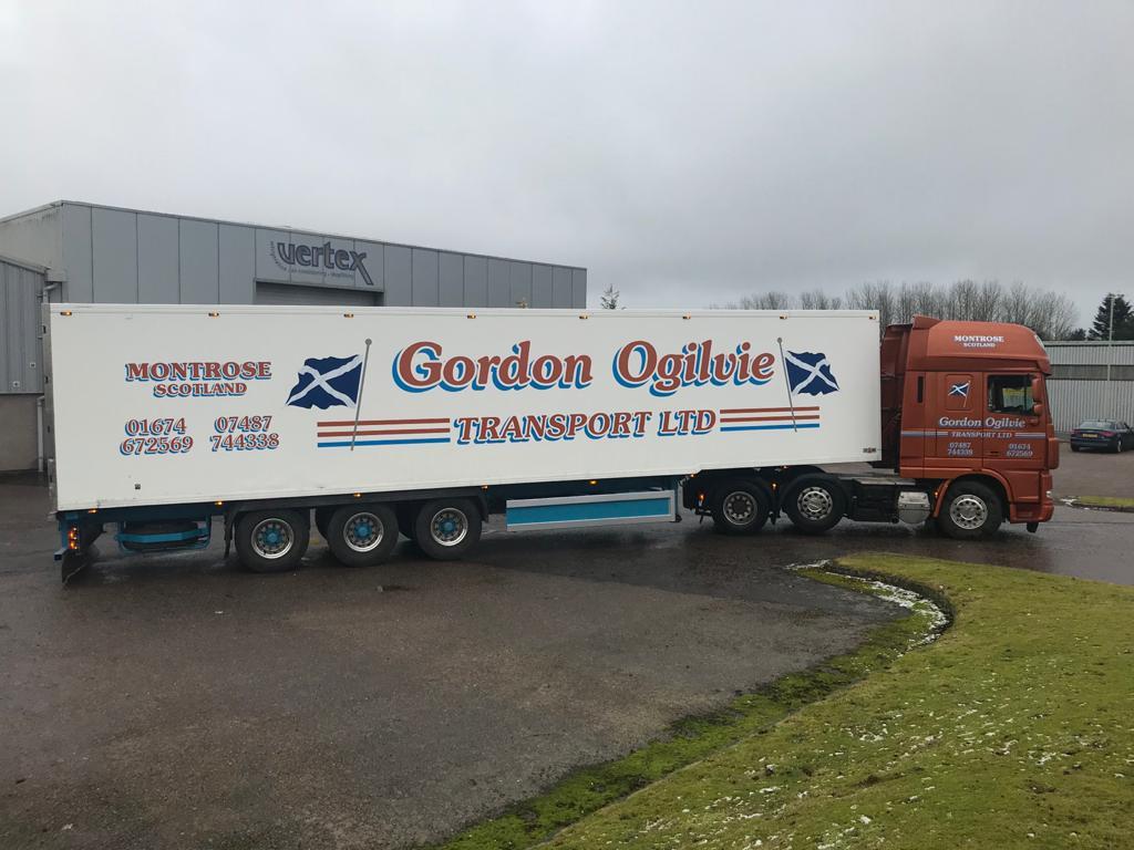 gordon ogilvie transport livery