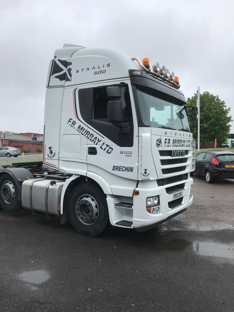 f.b murray lorry livery