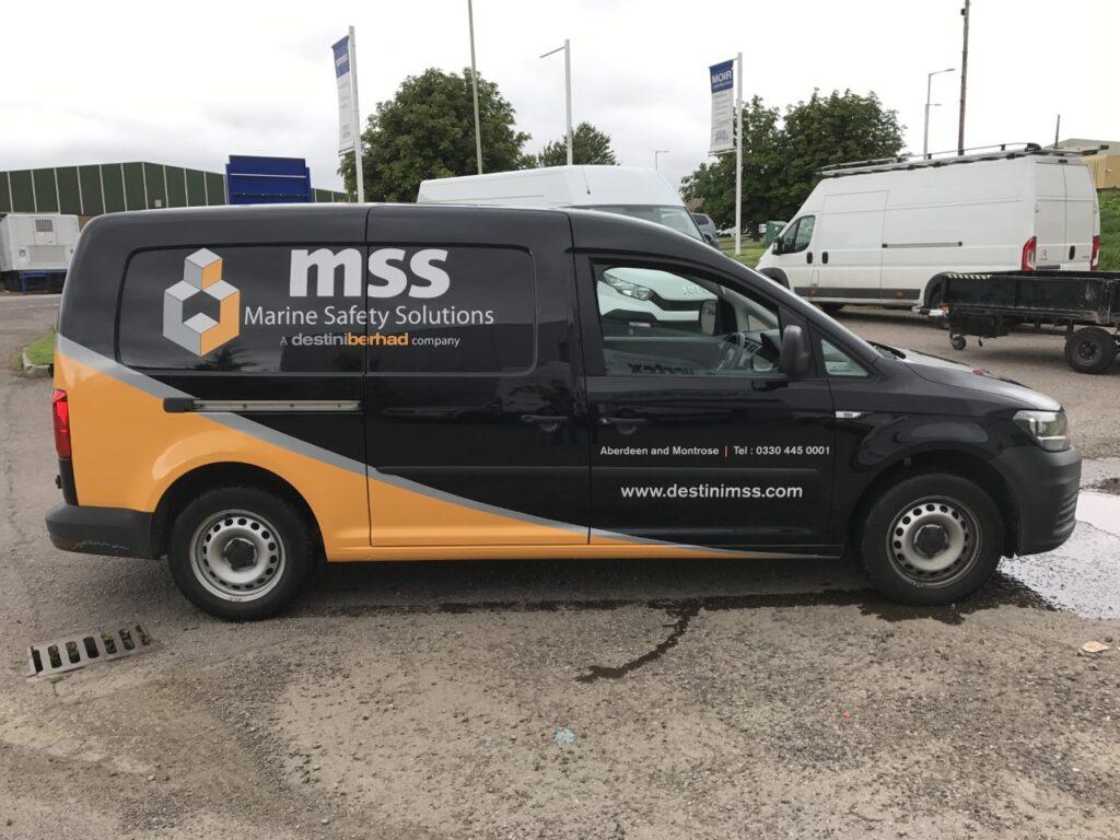 mss van livery work
