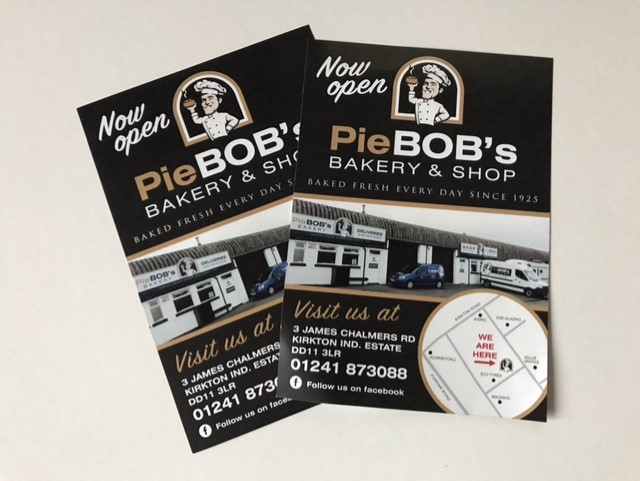 leaflets for pie bobs