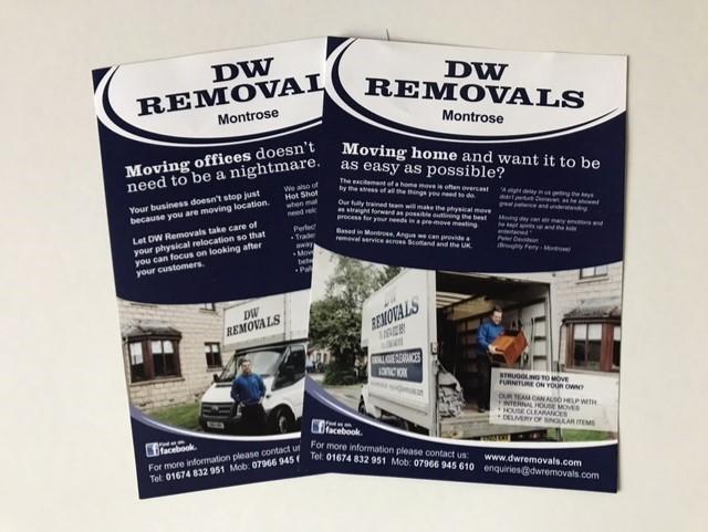 leaflets for dw removals