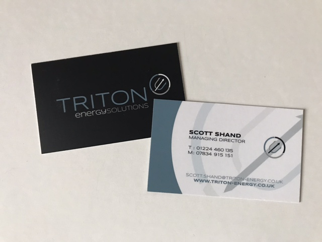 triton business cards