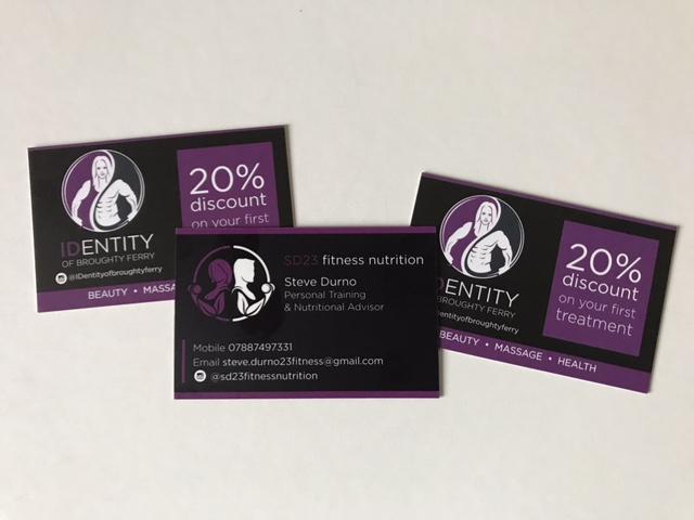 identity gift voucher design