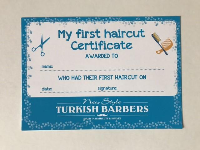 haircut award design