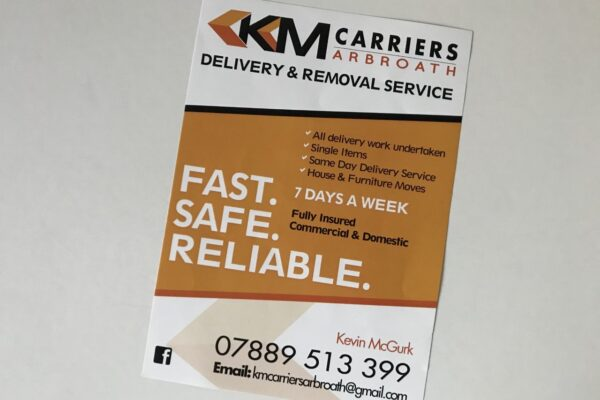 km carriers leaflet