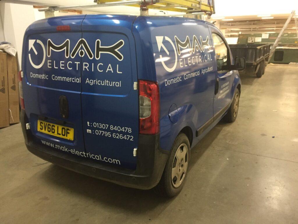 mak electrical livery work inside
