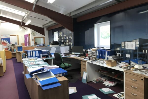 inside keillor graphics office