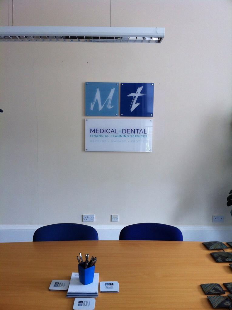 medical and dental signage