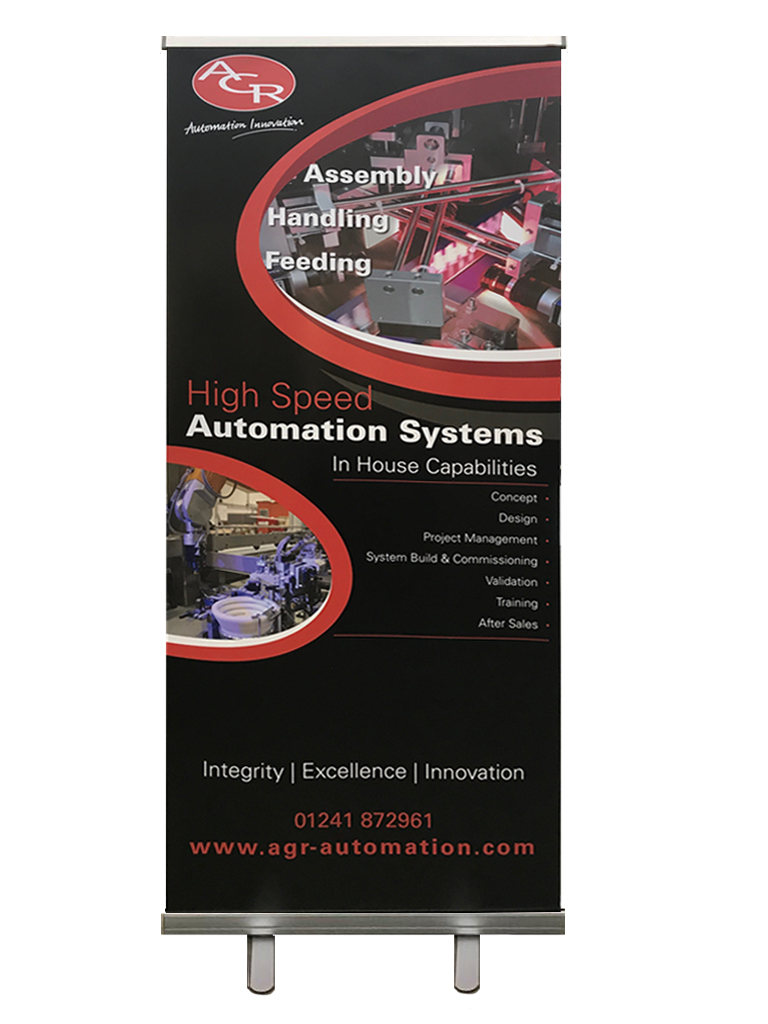 AGR-Automation exhibition board