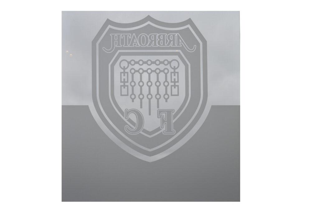 Rotated Arbroath FC logo