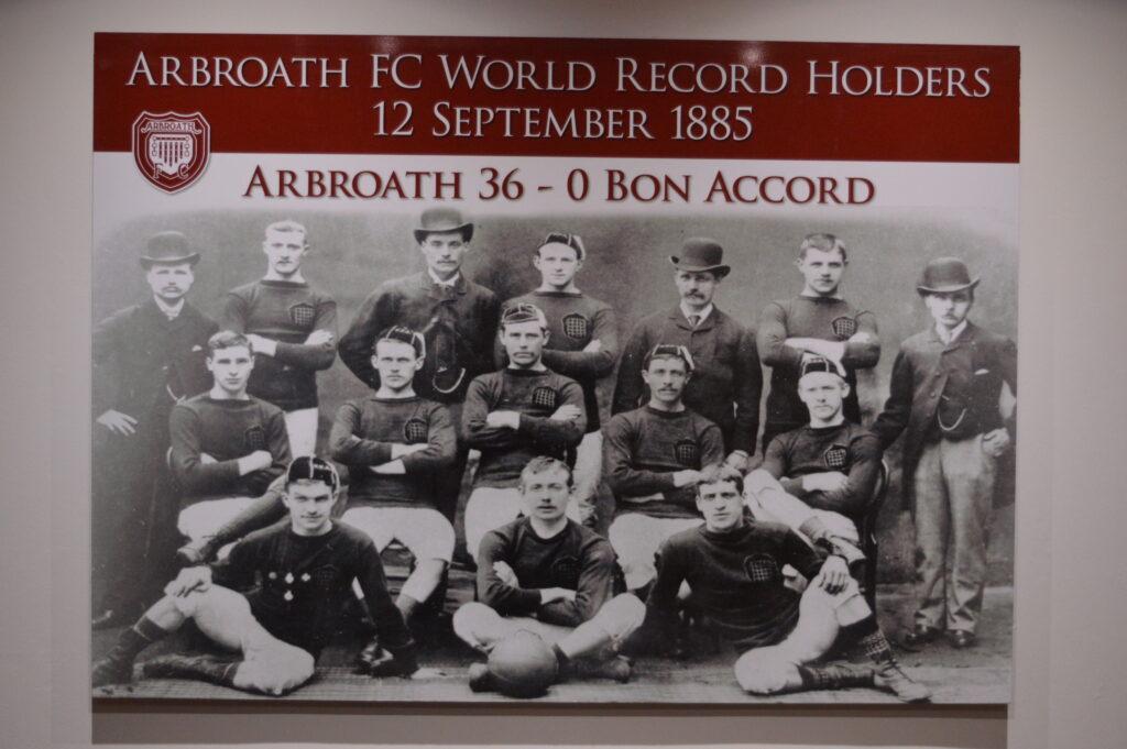 World record holders Arbroath FC photo