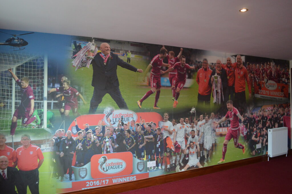 Arbroath FC photo collage