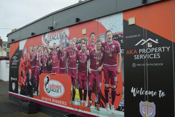 Arbroath FC 2018/19 Champions Signage