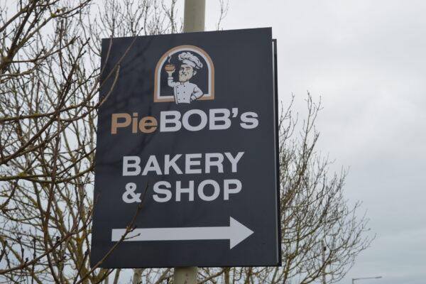 Pie Bobs Bakery and Shop Sign