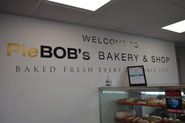 Wall print for Pie Bobs Bakery