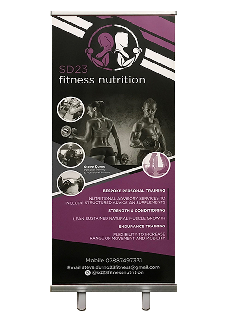 Fitness nutrition board for Identity