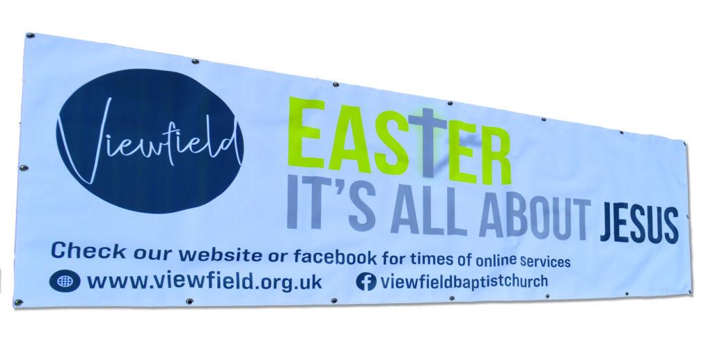 VBC Banner for Easter