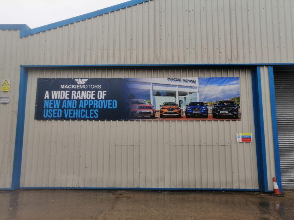 Banner for Mackie Motors